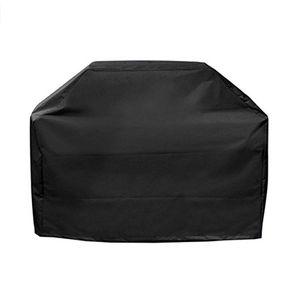 BBQ Grill-Abdeckung Wasserdichte Heavy Duty Patio Außen Oxford Barbecue Smoker Grill-Abdeckung (145 * 61 * 117 cm)