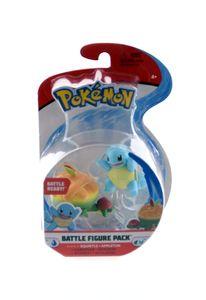 Pokémon Battle Figuren Wave 9 (5 bis 8 cm), Charakter:Schiggy + Schlapfel