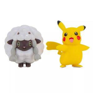 Pokémon - Battle Figuren Pikachu & Wolly