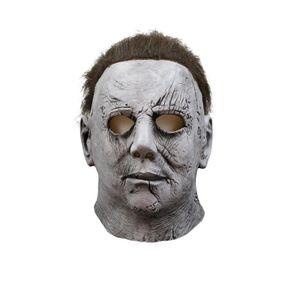 Deluxe Michael Myers Maske Halloween II Latex Vollen Kopf Erwachsene Phantasie Erwachsene Gr??e