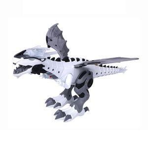 Elektrisch Dinosaurier Spielzeug Geschenke Dinosaur Spielzeug Ferngesteuert Dinosaurier Roboter Weiß