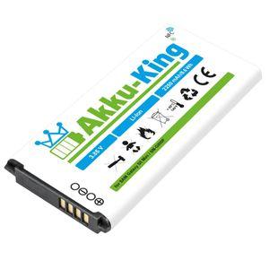 Akku kompatibel mit Samsung EG-BG800BBE - Li-Ion 2250mAh mit NFC - für Galaxy S5 Mini, S5 mini DuoS, SM-G800F, SM-G800H, SM-G800Y