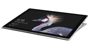Microsoft Surface Pro, 31,2 cm (12.3 Zoll), 2736 x 1824 Pixel, 128 GB, 4 GB, Windows 10 Pro, Schwarz, Silber