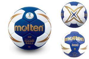 molten Handball IHF Wettspielball Blau Gr. 3