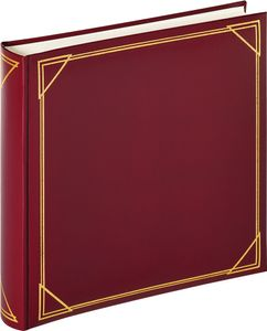 Walther Standard weinrot   30x30 100 Seiten weiß Fotoalbum MX200R