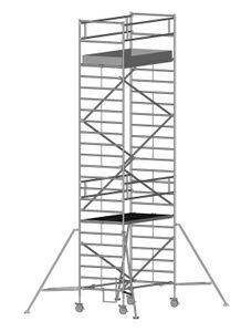 ZARGES Multitower 2T - LM-Fahrgerüst Ausleger Arbeitshöhe 8,40 m
