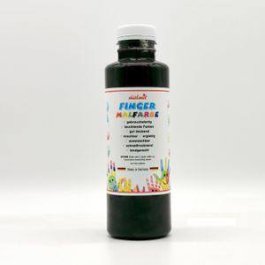 play malmit® Fingerfarben Fingermalfarben Fensterfarben Malfarben Kinderfarben Schwarz 250ml