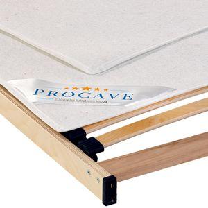 PROCAVE Filzschoner als Matratzenunterlage für den Lattenrost in 140x200 cm - idealer Matratzenschoner