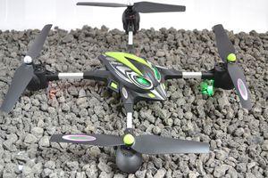 Jamara RC Drohne Oberon Altitude AHP + HD Kamera  Quadrocopter 422006