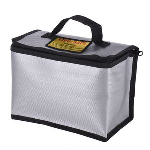 Feuerfester explosionssicherer Lipo-Batterie-Safe-Beutel Tragbarer hitzebestaendiger Beutel-Sack fuer das Laden und die Lagerung der Batterie 215 * 115 * 155mm