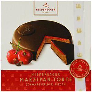 Niederegger Marzipan Torte Schwarzwälder Kirsch zartbitter 185g