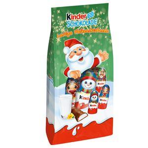 Ferrero Kinder Lustige Weihnachtsbande gefüllte Figuren 102g