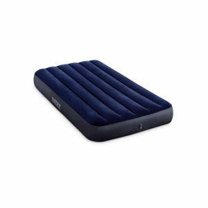 Intex 64757 Einzelbett Luftmatratze Luftbett Classic Downy 99x191x25Breite (cm): 99, Eigenschaften: Materasso gonfiabile, Färbung: Blu, EAN: 6941057412443, Matratzengröße: Einzelmatratze