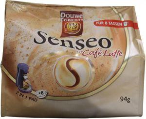 Kaffeepads Senseo Milchkaffee 'Cafe Latte', 8 Stck.