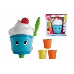 Simba ABC Schaummaschine, mit Bechern, Badespielzeug, Schaumspender, Kinder, Baby Spielzeug, 104010122