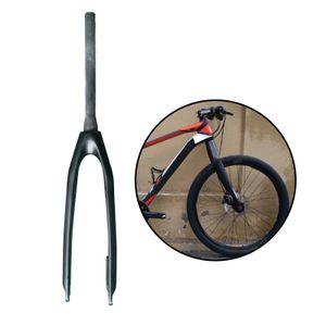 1 Stück Fahrrad Vorderradgabel 29inch Schwarz