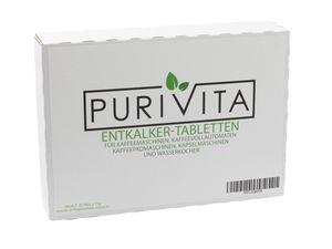 Purivita - Entkalkungstabletten - für Kaffeemaschine und Kaffeevollautomat 20er Packung