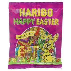 Haribo Happy Easter Minibeutel Fruchtgummi und Dragee Eier 250g