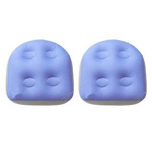2 Stück PVC  Bequemes Spa Kissen Pad Aufblasbare Erwachsene Kinder