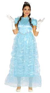 Fiestas Guirca kleid Princess Damen Polyester blau Größe L
