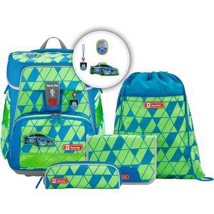 Step by Step 5-tlg. Schulranzenset Limited Edition Space Neon Nylon 37 x 28 x 20 cm (H/B/T) Kinder  20 Liter