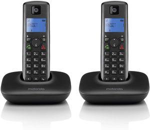 Motorola T402 Schnurlostelefon, Rufnummernanzeige, Freisprechfunktion, DECT
