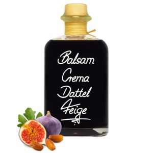 Balsamico Creme Dattel & Feige 0,5L 3%Säure mit original Crema di Aceto Balsamico di Modena IGP