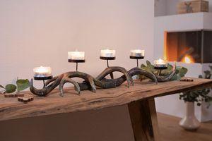 Kerzenhalter 'Geweih', Licht Kerze Lichtquelle stimmungsvolle Deko zeitlos