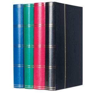 Sammelalbum DIN A4 Einsteckbuch Briefmarken Steckbuch Pergamin, Herstellernummer:313517, Farbe:Schwarz