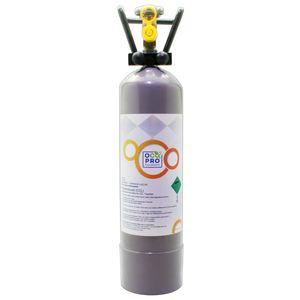 OCOPRO CO2 Zylinder Kohlensäure passend für SPRUDELUX INOX 2kg