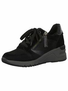 Tamaris Damen Sneaker schwarz,grau 1-1-23702-25 normal Größe: 39 EU
