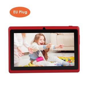Zoll Kinder Tablet Android 4.4 Tablet PC mit Dual-Kameras 8 GB Quad Core WiFi Tablet PC Pad für Kinder, Rot