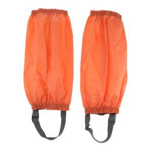 1 Paar Laufgamaschen Farbe Orange
