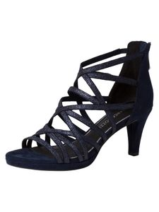 Marco Tozzi Damen Sandalette blau 2-2-28373-26 F-Weite Größe: 40 EU