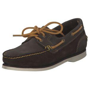 Timberland Boat Shoe Classic TB026608-2141 Blau/Braun, Größe: US9,5 - GR41