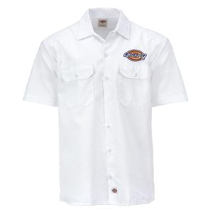 Dickies - Clintondale 05200348 WH Hemd Logo Work weiß Größe S