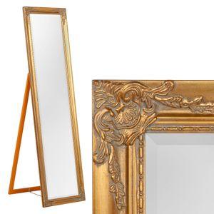 Standspiegel DOMINGO ca. 170x45cm Antik-Gold