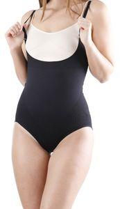 Yenita® Shapewear Formbody Seamless, ohne Brustteil M schwarz