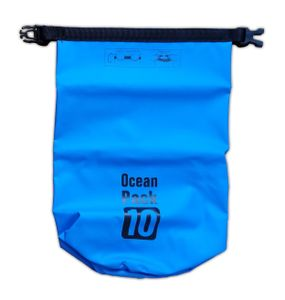 Wasserdichte Tasche 10L Blau Seesack Campingtasche Drybag Reisetasche Beutel Box Packsack 10 (Blau)