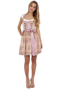 Mini Dirndl 2tlg. 50 cm ROSALIA beige rosa Krüger Dirndl Mini Dirndl 2tlg. 50 cm ROSIE beige rosa, 38