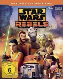 Star Wars Rebels - Staffel #4 (BR) 2BRs Min: 339DD5.1WS  Komplette 4. Staffel - Disney BGY0162704 - (Blu-ray Video / TV-Serie)