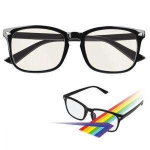 """Fontastic Essential Anti-Blaulicht und UV Brille """"Bony"""" komfortable, modische Brillenfassung, schwarz"""