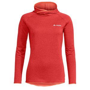 Vaude Miskanti LS Langarmshirt Rot - Damen, Größe:40
