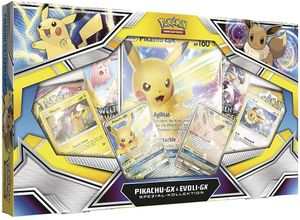 Pokemon - Pikachu GX & Evoli GX Kollektion - Deutsch