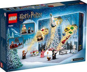 LEGO Adventskalender 75981 - Harry Potter Fanartikel Merch Magie Zauberer