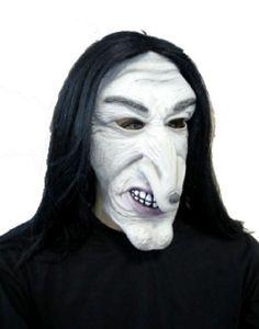FM - Maske mit Haaren Hexe Horror Halloween Walpurgisnacht