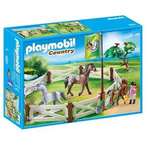 PLAYMOBIL® 6931 - Country - Pferdekoppel