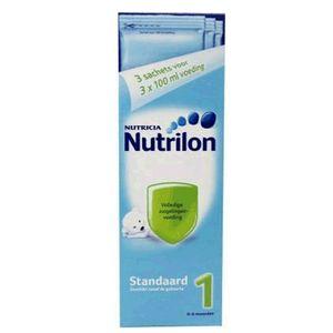 Nutrilon - 1 Säuglingsmilch - Beutel 3x 13,6gr