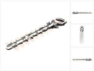 Makita Heckenmesserbalken Strauch Schermesser 20cm für UH 200 / UH 201 / UM 164 / UM 600 / DUM 168 / DUM 604  Heckenschere / Grasschere