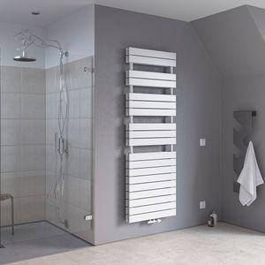 Badheizkörper Zweilagig Paneelheizkörper Handtuchwärmer Mittelanschluss XIMAX P2 Duplex Weiss Höhe 1195 mm, Breite 500 mm 907 Watt